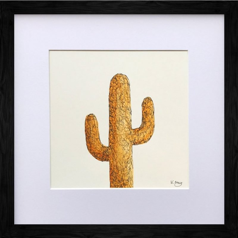 Saguaro Cactus – Orange
