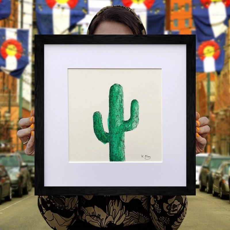 Saguaro Cactus – Green