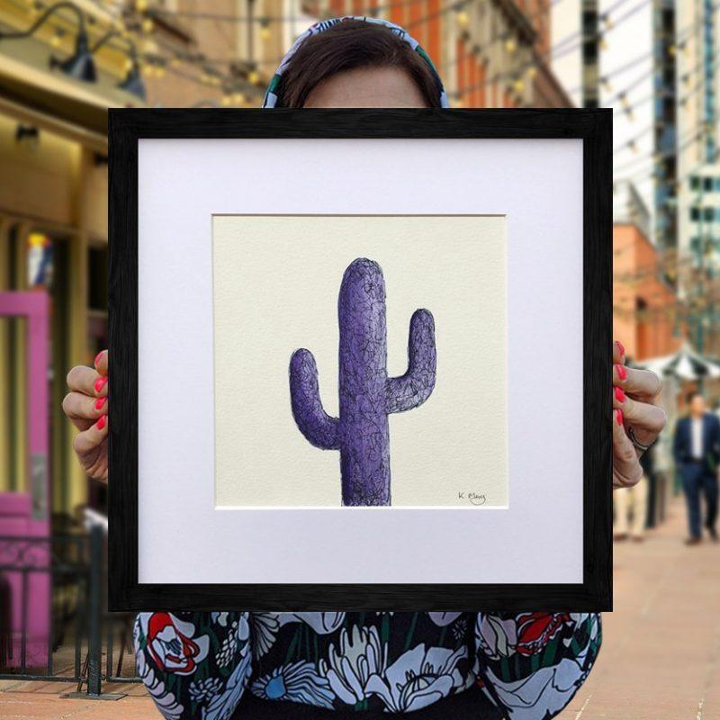 Saguaro Cactus – Lilac