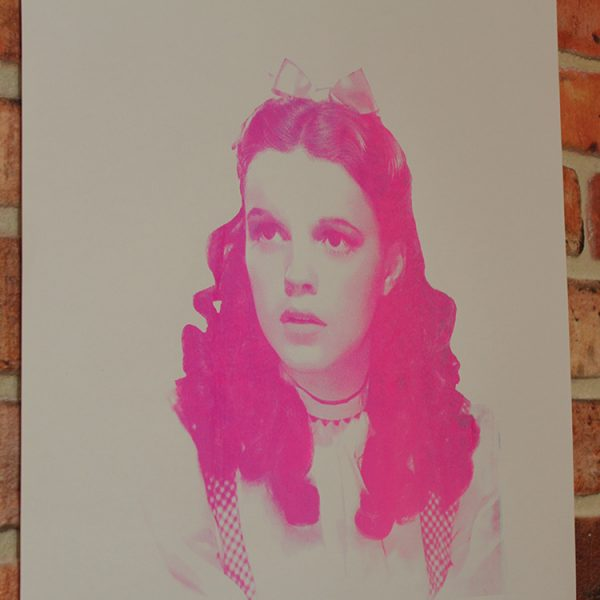 Pink Dorothy (Angled) by Barrie J Davies