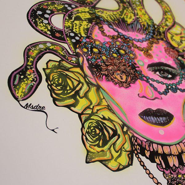 Pink Medusa (Signature) by MsDre