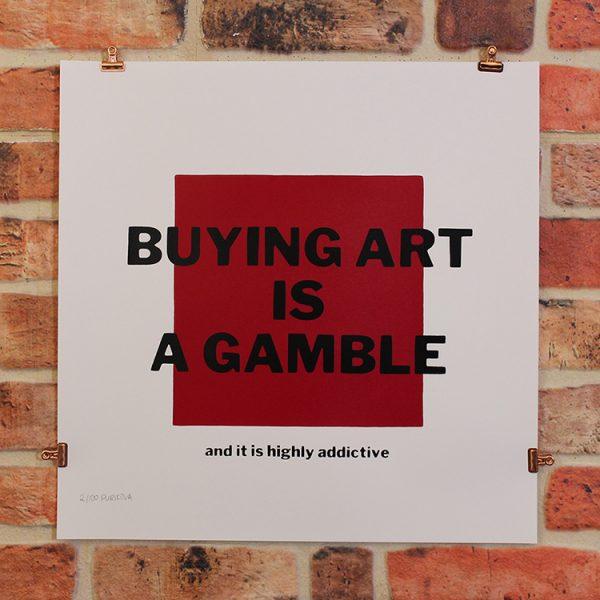 Buying Art is a Gamble by Olya Purikova