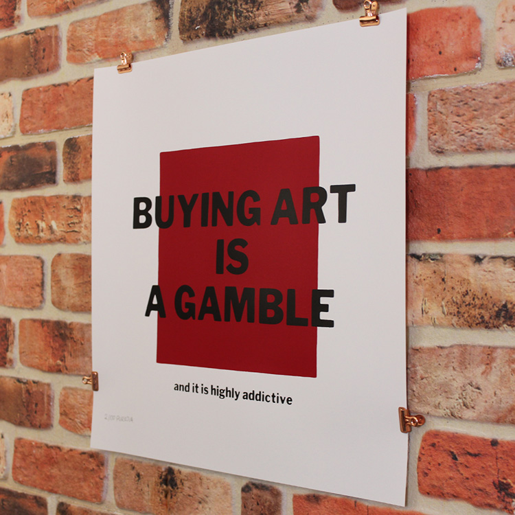 Buying Art is a Gamble