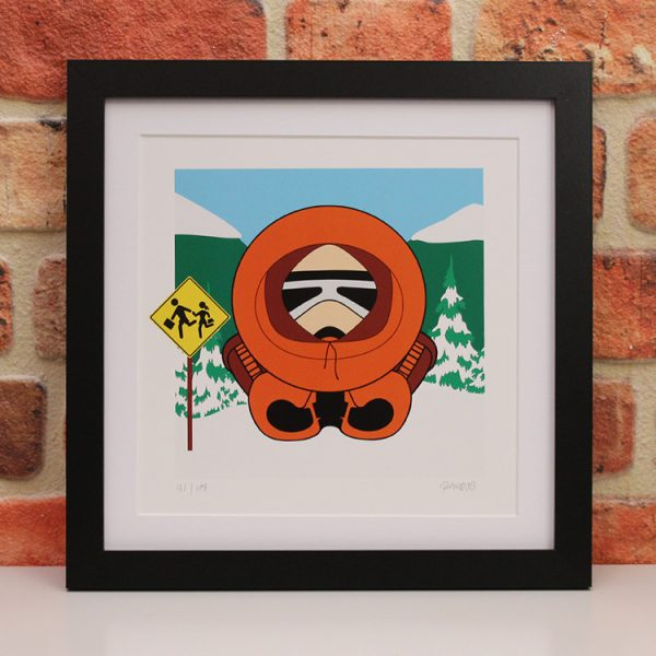 Kenny McCormick (Framed) by Ramboo
