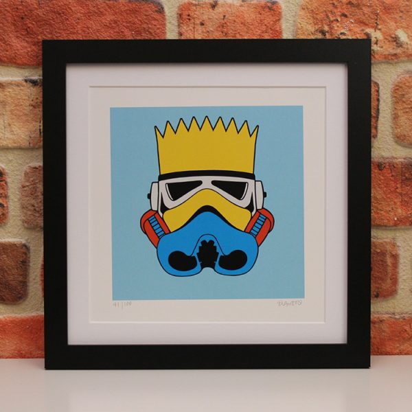 Bart Simpson (Framed) by Ramboo