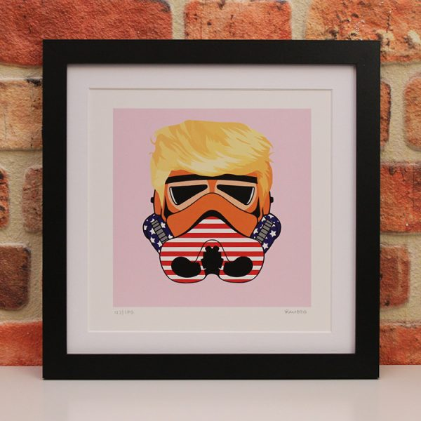 Donald Trump (Framed) by Ramboo