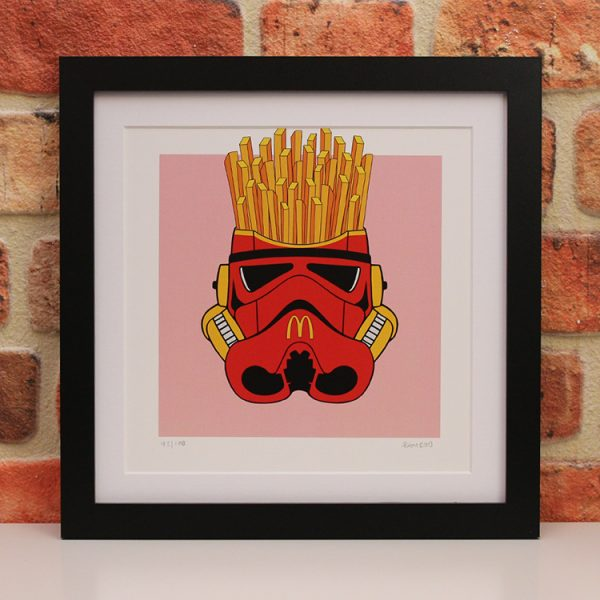 McDonald's Fries (Framed) by Ramboo