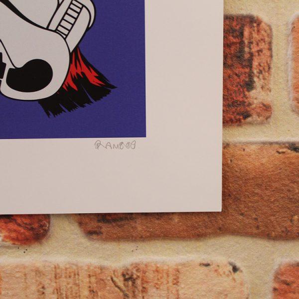 Ziggy Stardust (Signature) by Ramboo